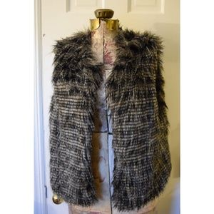Faux Fur Vest Size S Will Also Fit MED